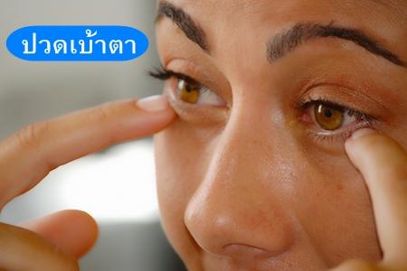 ปวดเบ้าตา,ปวดเบ้าตาซ้าย,อาการปวดเบ้าตา,ปวดเบ้าตาขวา