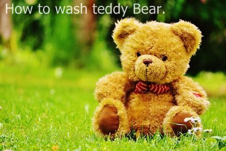 วิธีซักตุ๊กตา