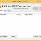วิธีแปลงไฟล์ AMR เป็น MP3 แบบง่ายๆ เพียงแค่ไม่กี่ขั้นตอนเท่านั้น