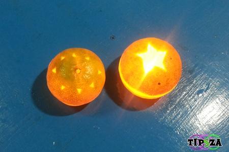 Orange Candle 11